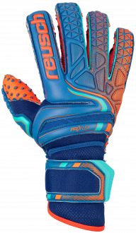 Reusch Attrakt Pro G3 SpeedBump Evolution Ortho-Tec 5070978 4959 blue orange front